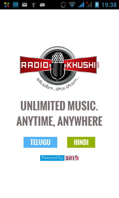 RadioKhushi Hindi Telugu Radio- screenshot