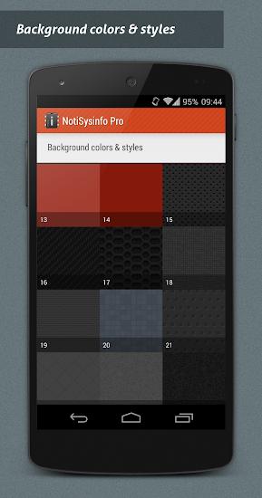 NotiSysinfo Pro - screenshot