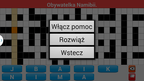 Krzyżówki po polsku- screenshot thumbnail