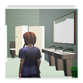 School toilet: Girl 4-12