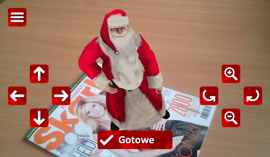 Santa Claus AR screenshot