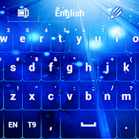 GO Keyboard Glow Blue 3.1
