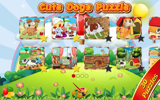 Cute Dogs Kids Jigsaw Puzzles