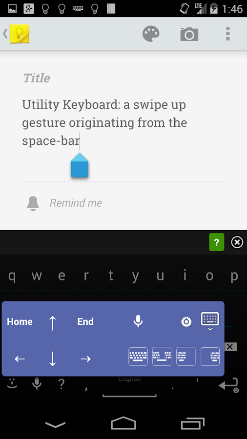 AnySoftKeyboard- screenshot