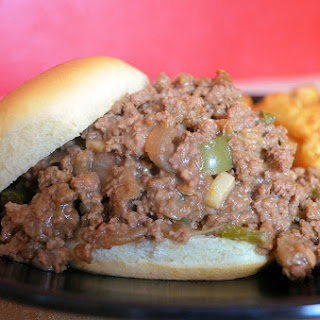 Philly Cheese Steak Sloppy Joes.