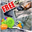 Zoo Animals Theme for GO SMS icon