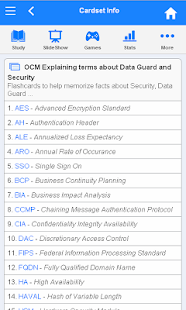 OCM Flashcards - screenshot thumbnail