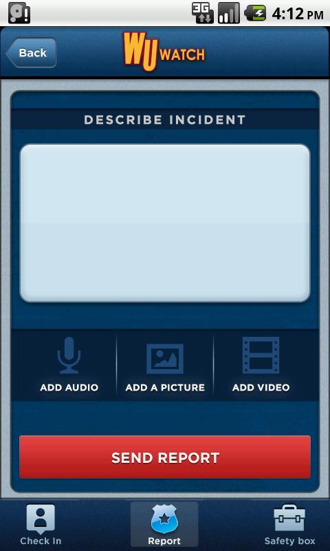 WU Watch Safety - screenshot