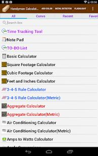 Handyman Calculator- screenshot thumbnail