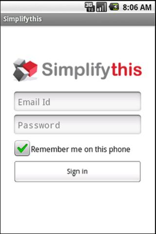 Simplifythis - screenshot