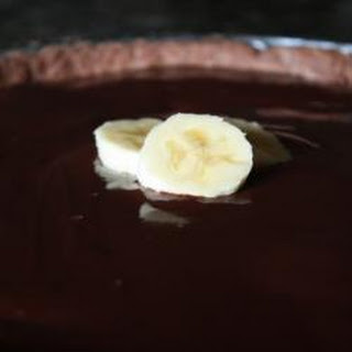 Chocolate Chocolate Banana Tart Recipe