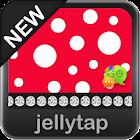 Beautiful Red Polka Dot Theme icon