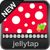 Beautiful Red Polka Dot Theme