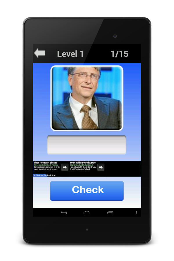 Famous Faces - Celebrity Quiz - screenshot