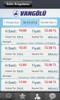 Screenshot of Vangölü Turizm
