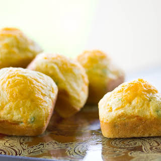 Cornbread Muffins With Corn Flour Recipes.