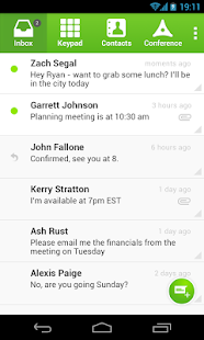 SendHub PBX & Conference Call - screenshot thumbnail