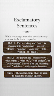 Grammar : Reported Speech - screenshot thumbnail