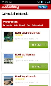 moBooking Romania screenshot 2