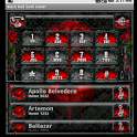 Black Red Goth Dialer icon