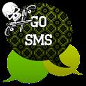 GO SMS - Skull Pistol 2 icon