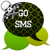GO SMS - Skull Pistol 2