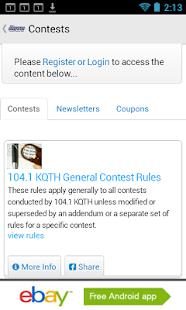 104.1 KQTH- screenshot thumbnail