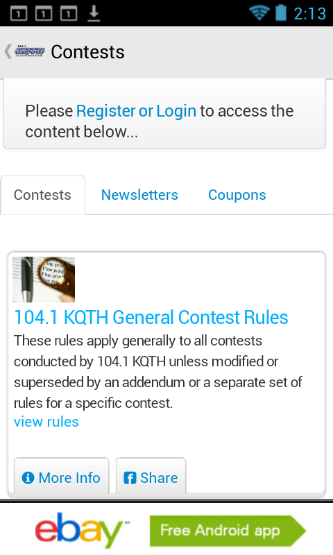 104.1 KQTH - screenshot