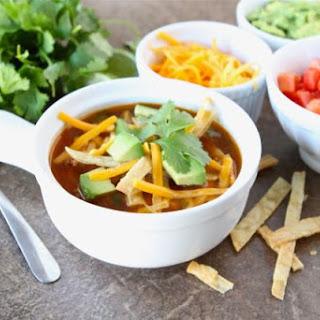 Chicken Fajita Soup Recipe