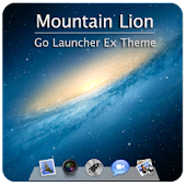MountainLion Go Launcher Theme