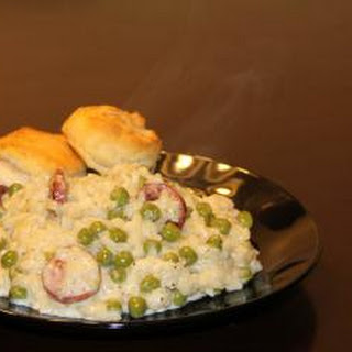 Sausage and Pea Risotto Recipe