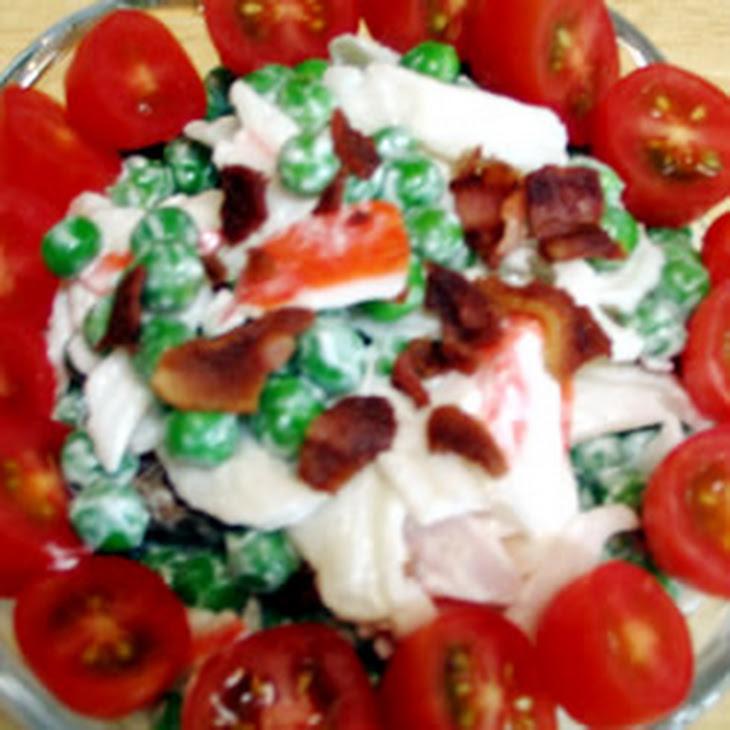 Pea and Crab Salad