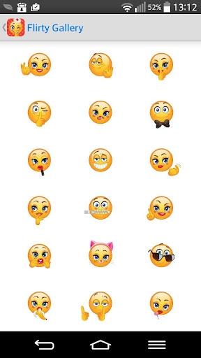 Adult Emoji Icons Emoticons