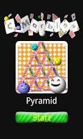 Screenshot of C-Marbles Card [Pyramid]