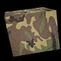 3D Camouflage Cube LWP icon