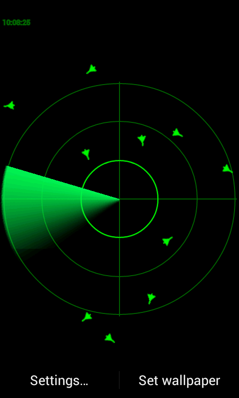 Radar Lwp Simple Android Apps On Google Play