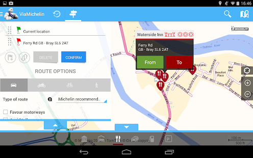ViaMichelin: Route GPS Traffic- screenshot thumbnail