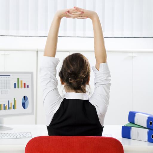 辦公室運動及消除疲勞 LOGO-APP點子