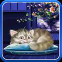 Sleeping Cat Live Wallpaper HD icon