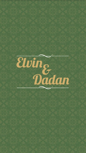 Elvin Dadan Wedding