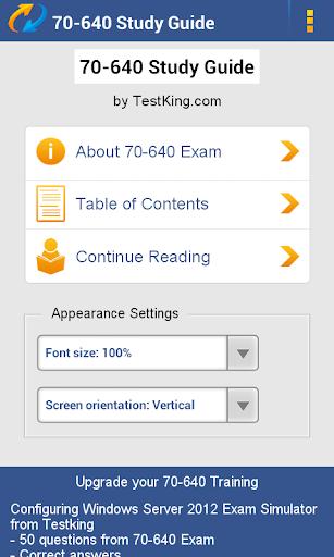 MCITP 70-640 Study Guide