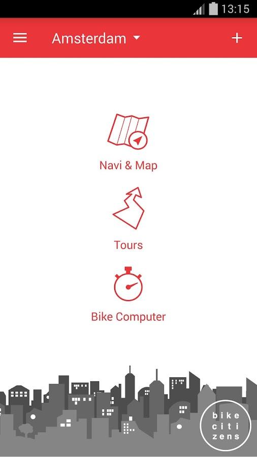 Bike Citizens - Bike Navi GPS - screenshot
