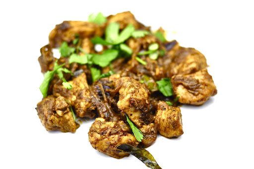 SPICY BLACK PEPPER CHICKEN