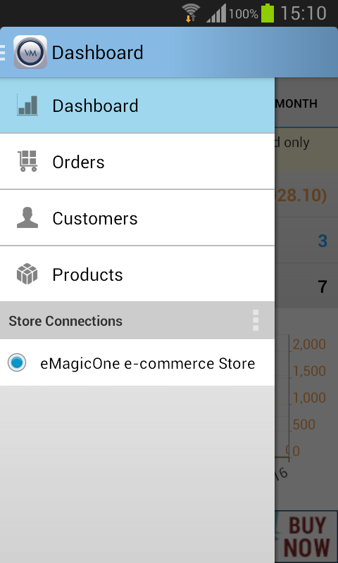VirtueMart Mobile Assistant- screenshot