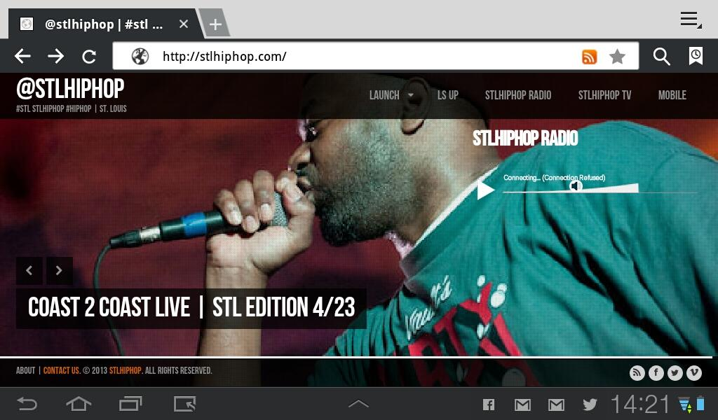 stlhiphop- screenshot