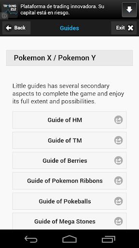 Guides Pokemon X Y