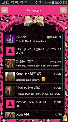 GO SMS THEME - SCS317