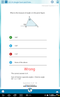 Screenshot of 8th Grade Common Core Math