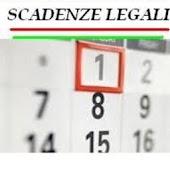 Scadenziario Legale