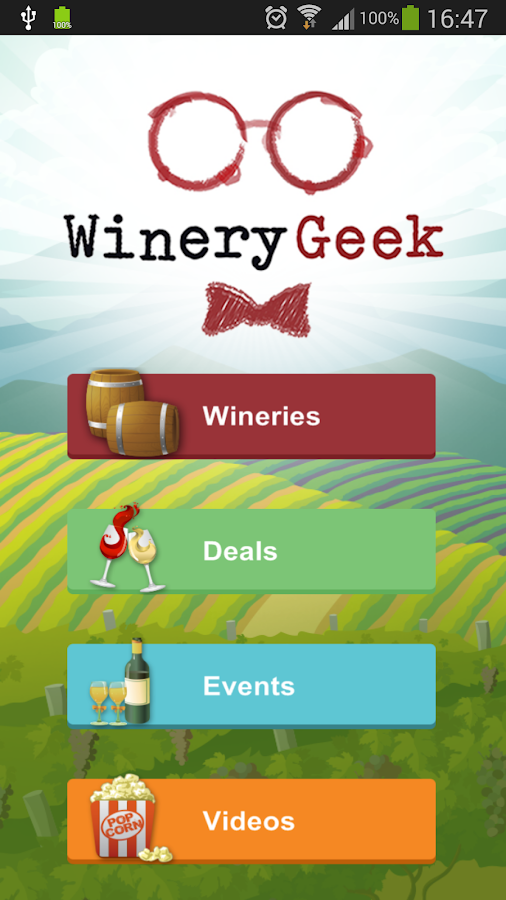 Winery Geek home page